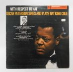Oscar Peterson - Sings And Plays Nat King Cole LP (EX/VG) YUG.