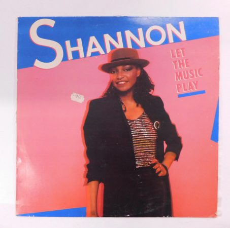 Shannon - Let The Music Play LP (EX/VG) YUG.