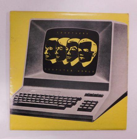 Kraftwerk - Computer World LP (EX/VG-) YUG.