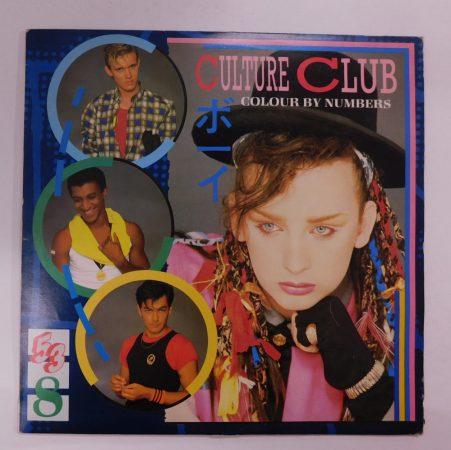 Culture Club - Colour By Numbers LP (EX/VG+) YUG.