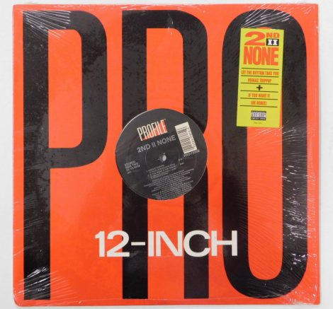 "2nd II None - Let The Rhythm Take You 12"" (VG+/EX) USA.,1992"