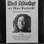 "Bob Marley vs Olav Basoski - Could You Be Loved 2000 12"" (VG+)UK.,Unofficial"