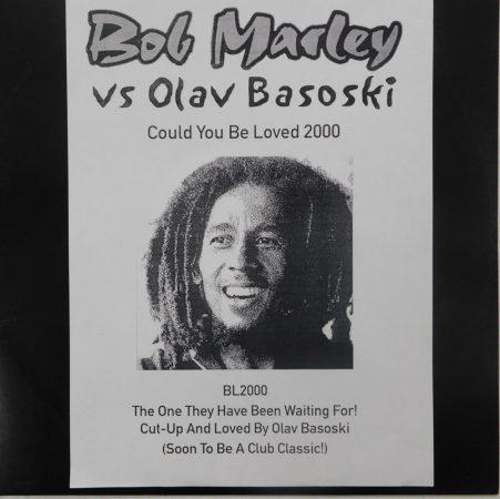 "Bob Marley vs Olav Basoski - Could You Be Loved 2000 12"" (VG+)UK.,Unofficial"