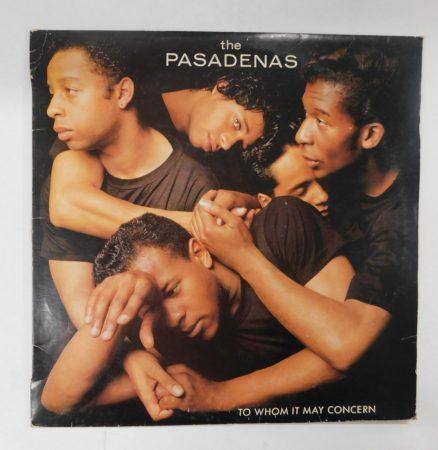 The Pasadenas - The Whom It May Concern LP (VG+/VG) HUN.