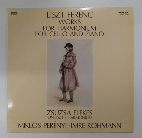 Liszt Ferenc - Works For Harmonium For Cello And Piano LP (NM/EX) HUN