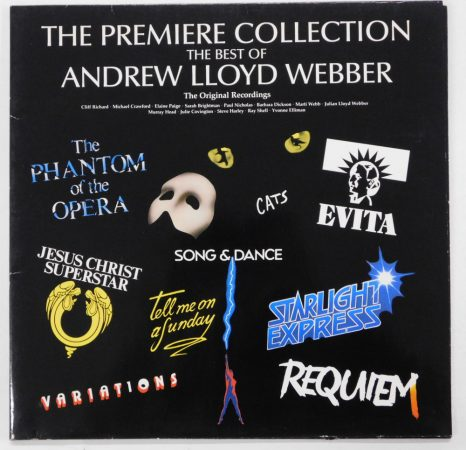 The Premiere Collection - The Best Of Andrew Lloyd Webber LP(EX/VG+)UK.
