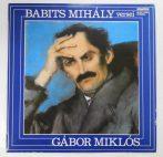 Babits Mihály versei - Gábor Miklós LP (NM/EX)