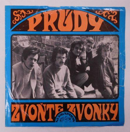 Prúdy - Zvonte, Zvonky LP (VG/G+) CZE, 1969, First Press