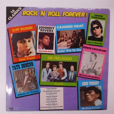 V/A - 16 Classics - Rock 'N' Roll Forever! LP (NM/VG+) INDIA