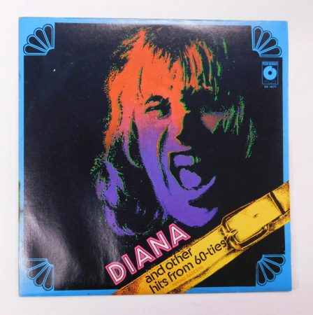 Flying Saucers - Diana And Other Hits From 60-ties LP (EX/VG+) POL.