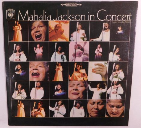 Mahalia Jackson In Concert LP (EX/VG) GER.