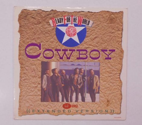 """Ready For The World - Cowboy 12"""" (EX/VG+) USA, 33RPM"""