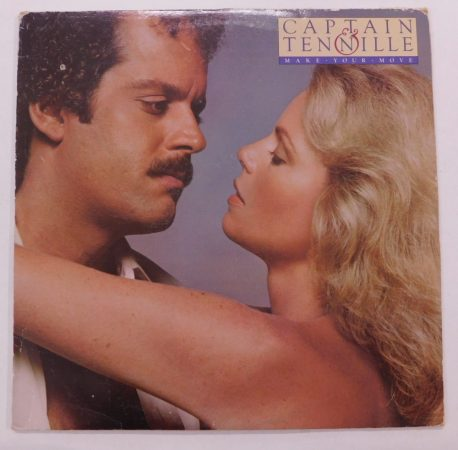 Captain & Tennille - Make Your Move LP (VG+/G+) Canada, 1979