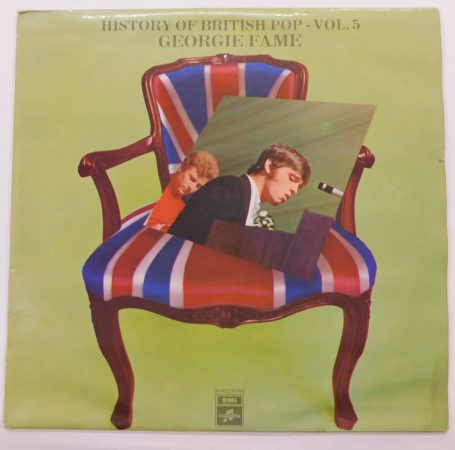 Georgie Fame - History Of British Pop - Vol. 5 LP (EX/G) Holland