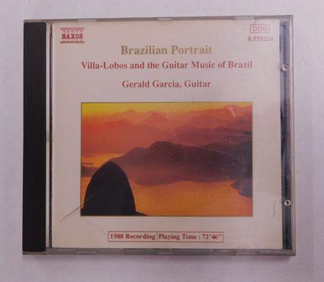 Gerald Garcia - Brazilian Portrait - Villa-Lobos&The Guitar Music Of Brazil CD (VG+/VG+) EUR.