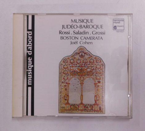 Rossi, Saladin, Grossi - Musique Judéo-Baroque CD (VG+/VG+) EUR.,1988