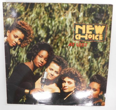 New Choice - At Last LP (EX/VG) GER