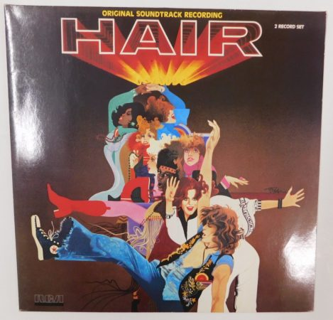 Galt MacDermot - Hair - Original Soundtrack Recording LP (EX/VG+) GER
