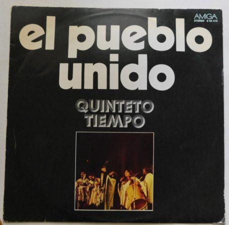 El Pueblo Unido - Quinteto Tiempo LP (EX/VG) GER.