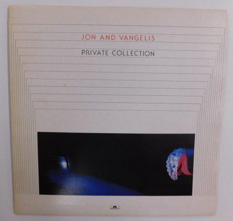 Jon And Vangelis - Private Collection LP (VG/VG+) JUG