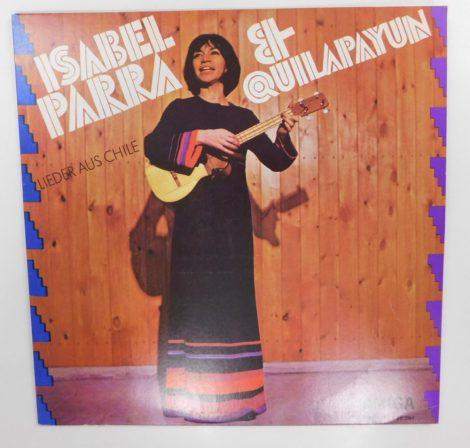 Isabel Parra & Quilapayún - Lieder Aus Chile LP (EX/VG+) GER.
