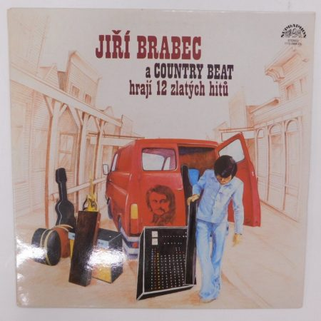 Brabec - A Country Beat LP (EX/EX) CZE