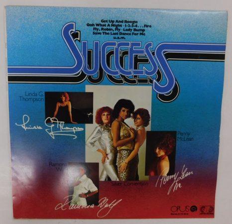 Silver Convention, McLean, Wulf, Thompson - Success LP (VG+/VG+) CZE