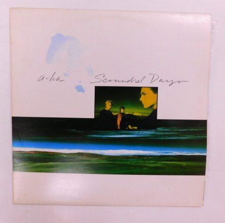 a-ha - Scoundrel Days LP (NM/VG+) JUG