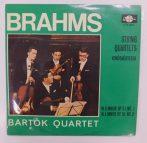 Brahms, Bartók Quartet - Vonósnégyesek LP (NM/VG+) HUN