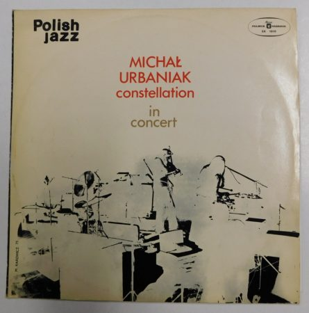 Michal Urbaniak Constellation - In Concert LP (NM/VG) POL