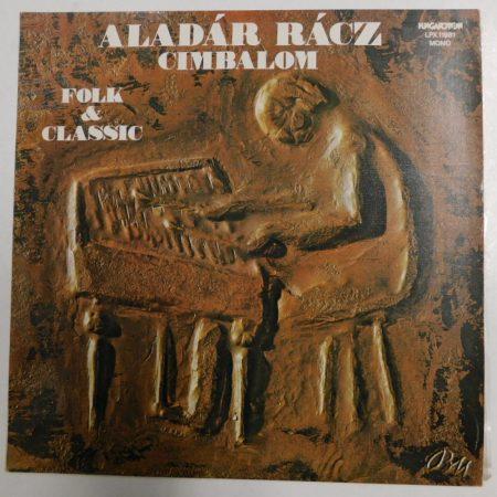 Rácz Aladár - Cimbalom - Folk and Classic LP (EX/VG+)